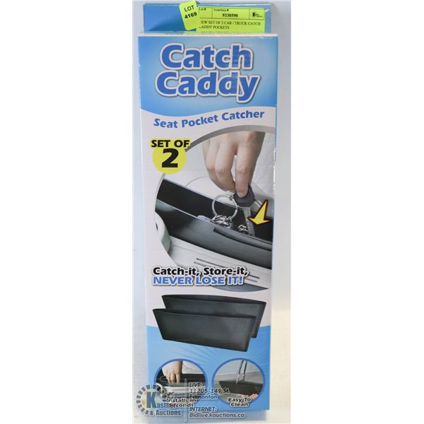 NEW SET OF 2 CAR / TRUCK CATCH CADDY POCKETS