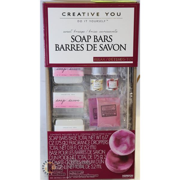 NEW CREATIVE YOU DIY SOAP BARS