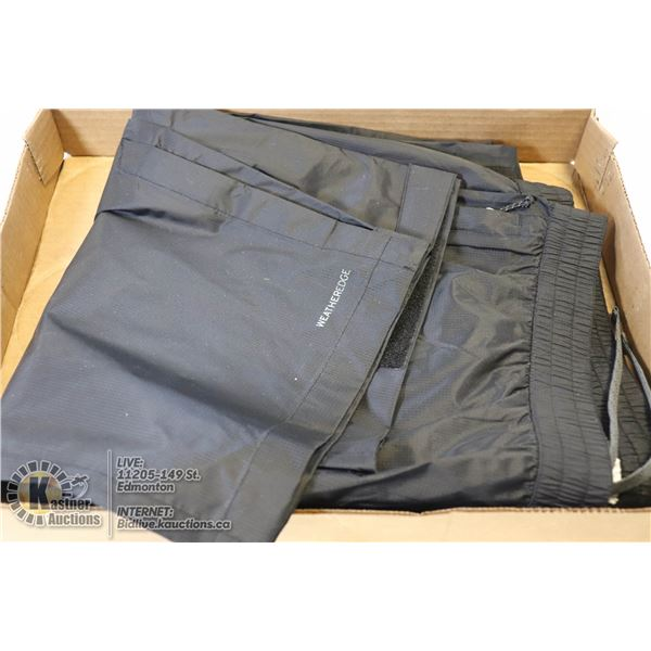 NEW MENS EDDIE BAUER WEATHER EDGE  PANTS,MSRP $100 SZ TXL