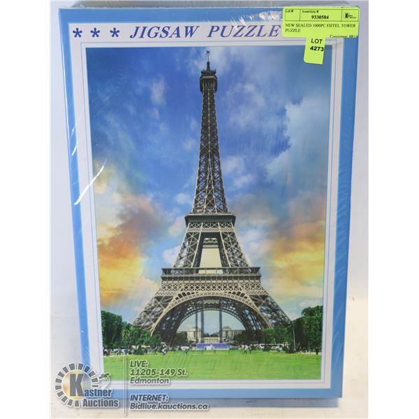 NEW SEALED 1000PC EIFFEL TOWER PUZZLE