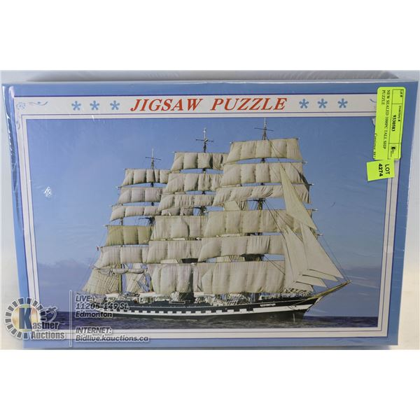 NEW SEALED 1000PC TALL SHIP PUZZLE