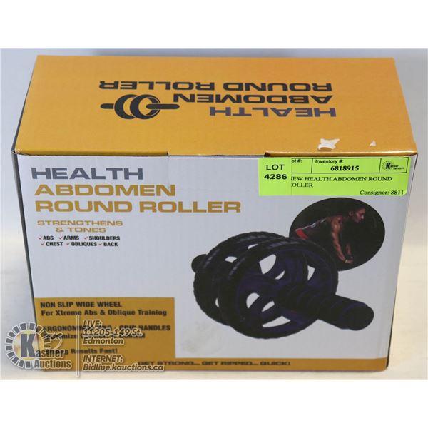 NEW HEALTH ABDOMEN ROUND ROLLER
