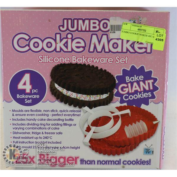 JUMBO COOKIE MAKER 4PC SET