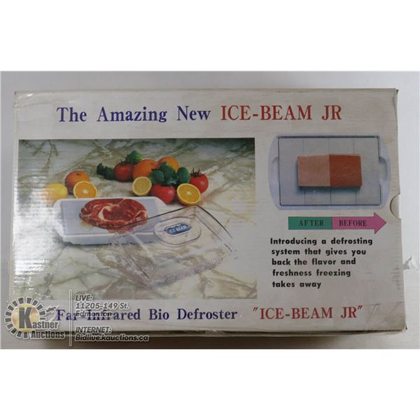 NEW ICE BEAM JR. FAR-INFRARED DEFROSTER PLATE