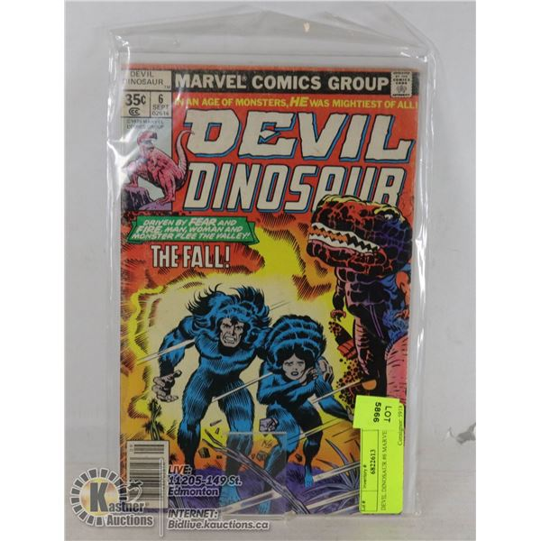 DEVIL DINOSAUR #6 MARVEL COMIC