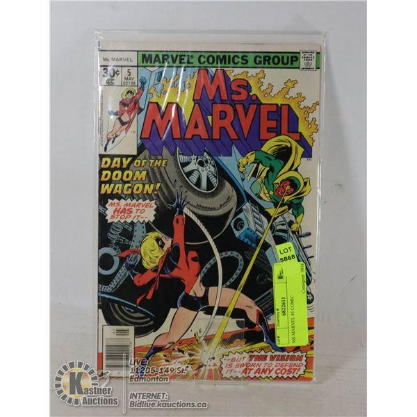MS MARVEL #5 COMIC