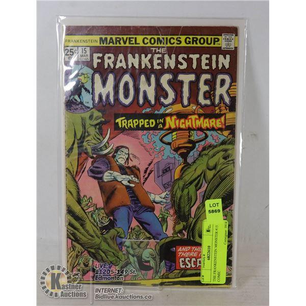 THE FRANKENSTEIN MONSTER #15 COMIC