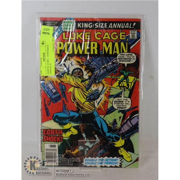 MARVEL COMIC - POWERMAN ANNUAL #1