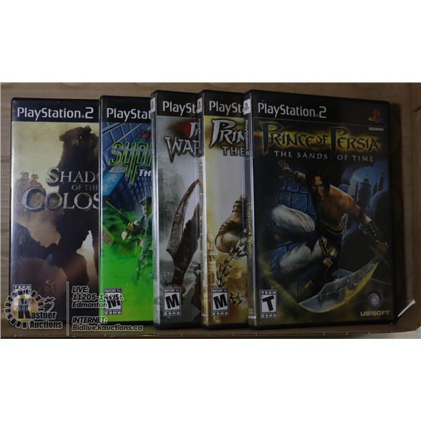 5 PS2 GAMES