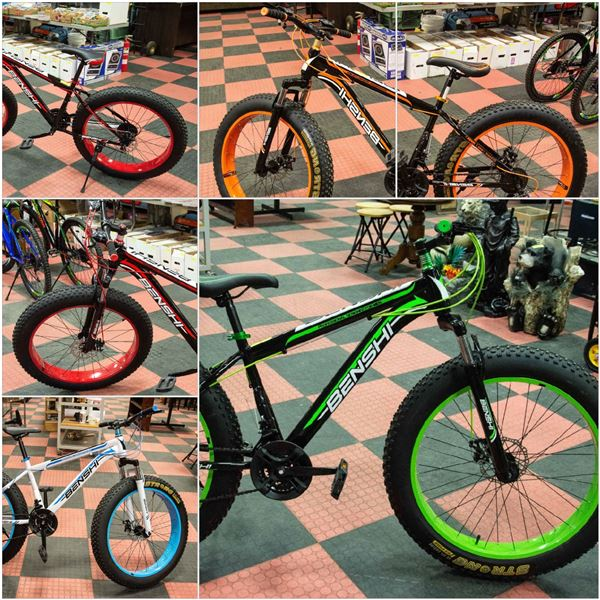 FEATURED NEW FAT TIRE BIKES