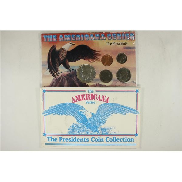 """THE AMERICANA SERIES """"THE PRESIDENTS"""" SET"""