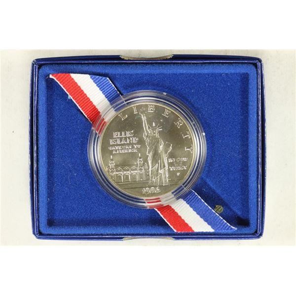 1986-P US LIBERTY UNC HALF DOLLAR