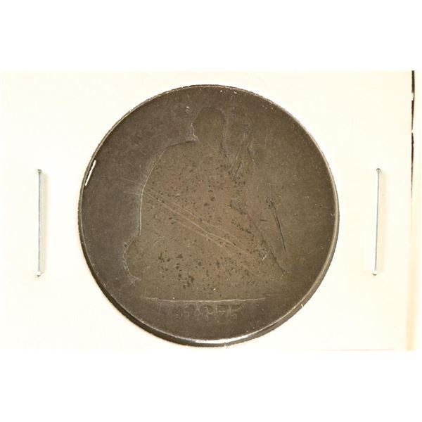 1875-S SEATED LIBERTY HALF DOLLAR