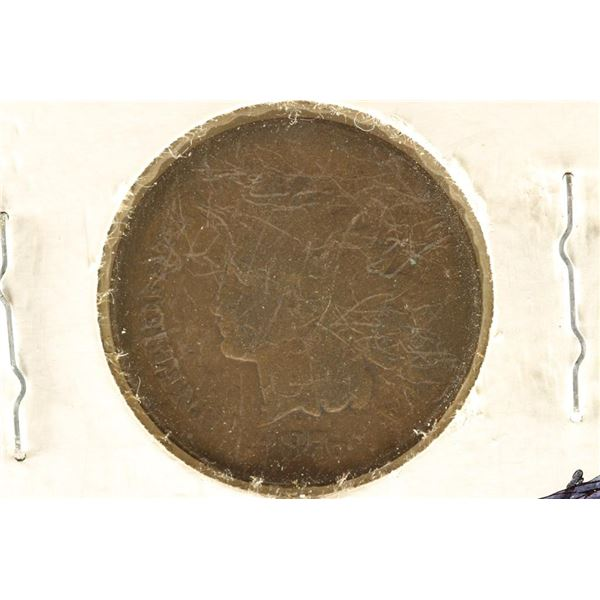 1876 INDIAN HEAD CENT KEY DATE