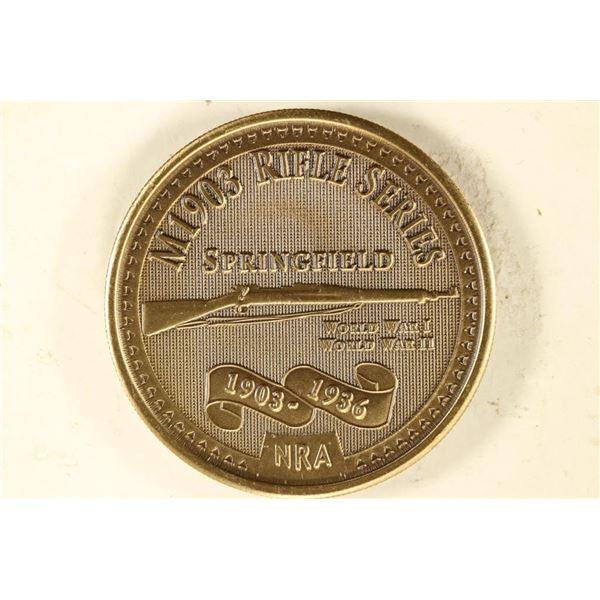 1 1/2'' TOKEN NATIONAL RIFLE ASSOCIATION M1903