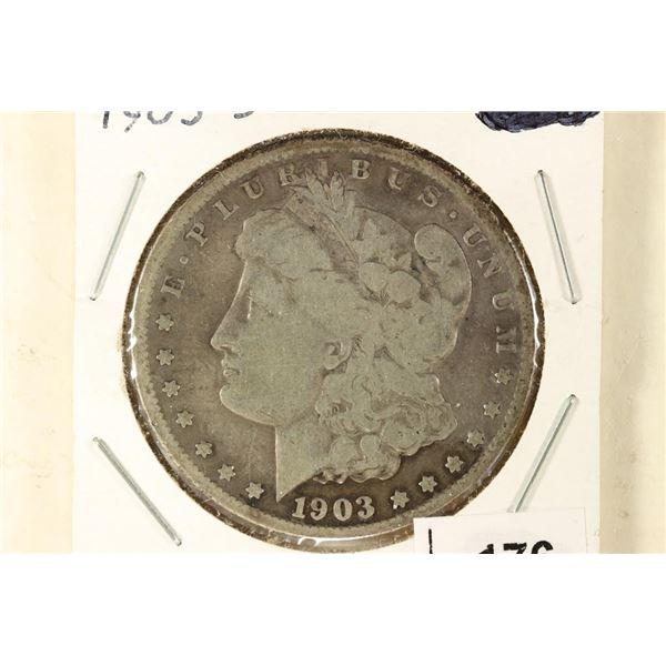 1903-S MORGAN SILVER DOLLAR KEY DATE