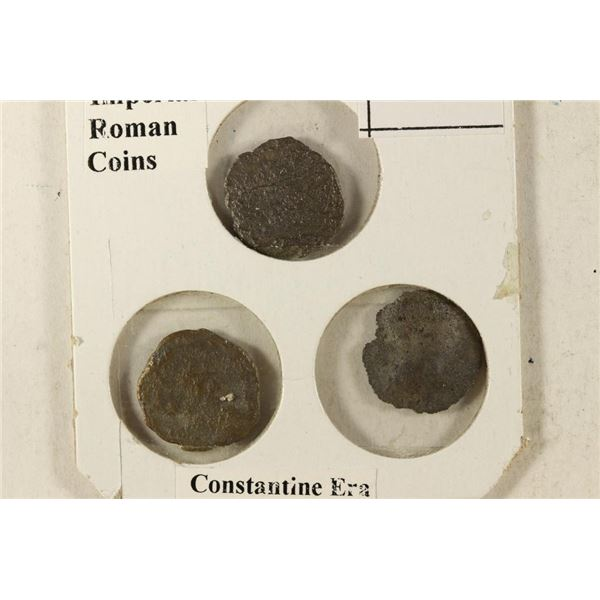 3-IMPERIAL ANCIENT ROMAN COINS FROM THE