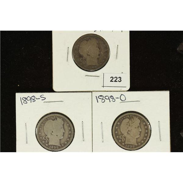 1898-P, S & O BARBER QUARTERS