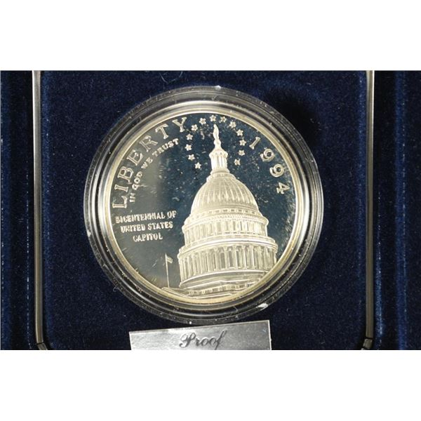 1994 US CAPITOL PROOF SILVER DOLLAR