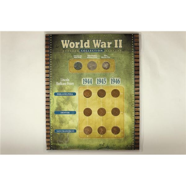 WWII COLLECTION CONTAINS: 1943 LINCOLN STEEL