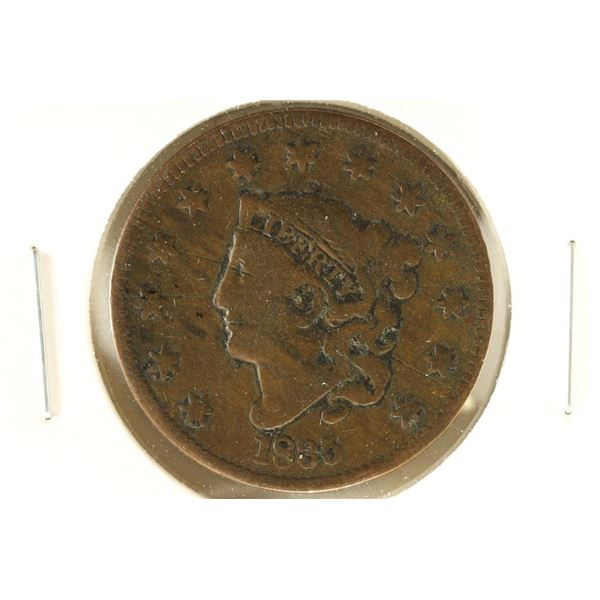 1835 HEAD OF 1834 US LARGE CENT