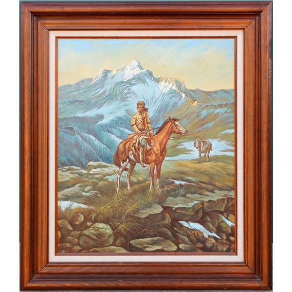 Landscape Oil Painting (Original), G. Heston  [85812]
