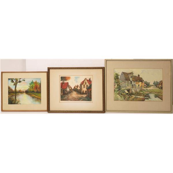 Landscape Paintings   [131932]
