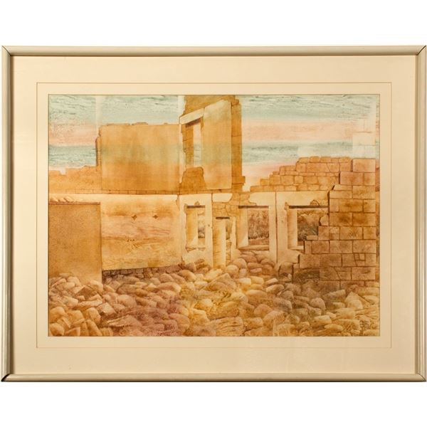 Broken Promise Painting by Nevada Artist Ruth Hilts  [121490]