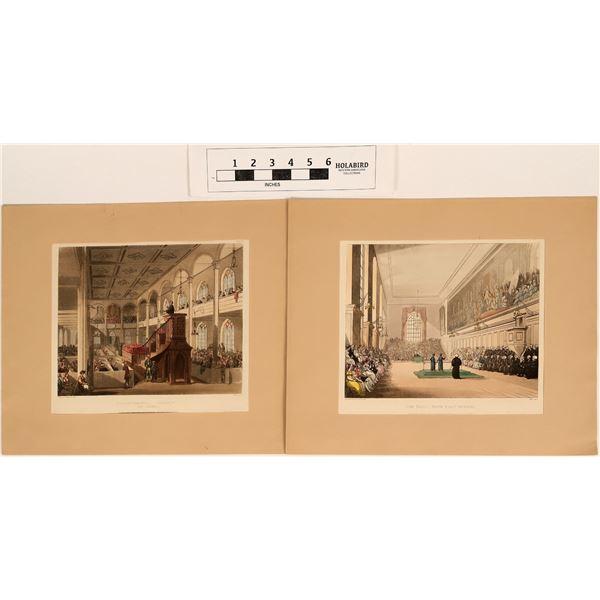 Famous Original Lithographs of  London Scenes  [124630]