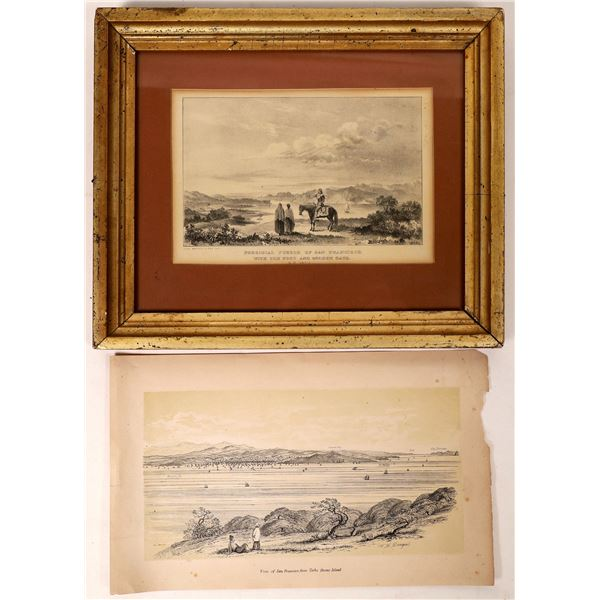 Two Early San Francisco Lithographs  [131610]