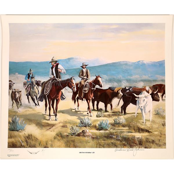 """Andrew """"Dick"""" Johnson Lithographs  [131851]"""
