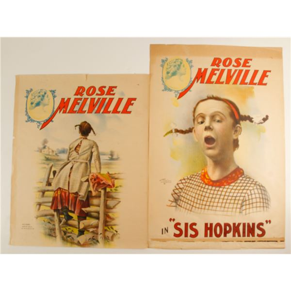 Rose Melville Lithographs (2)  [78971]