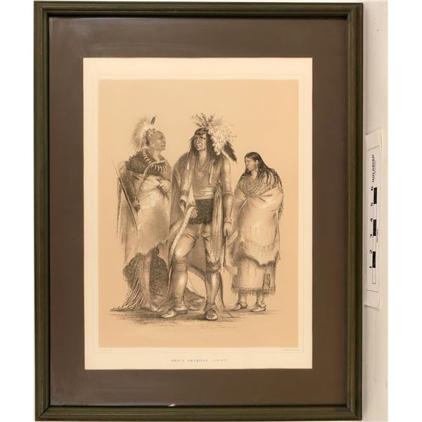 Geo. Catlin's North American Indians - Framed Litho Reproduction  [125092]