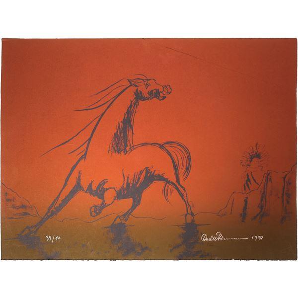 Horse by Carl Gorman  [131860]