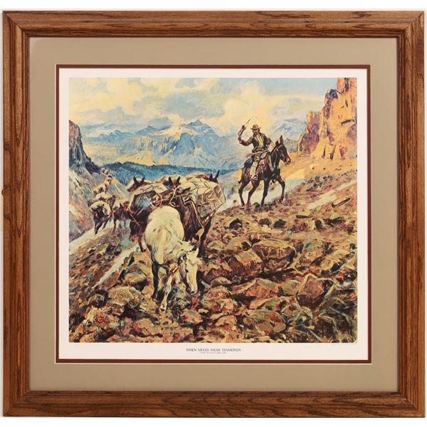 Charles M Russell Fine Art Prints - 2  [133724]