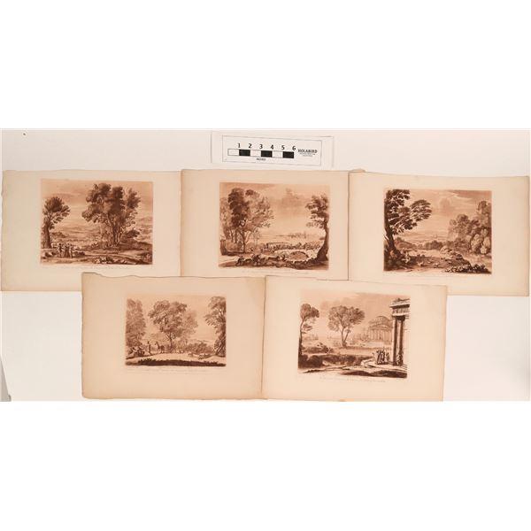 Fine Art Reproductions of Prints from Liber Veritatis  [124631]