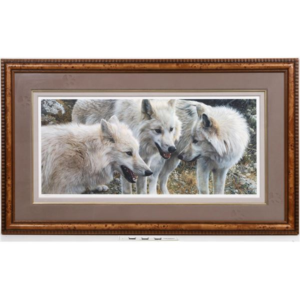 Wolf Photos and Art Collection - 14 Pieces  [125194]