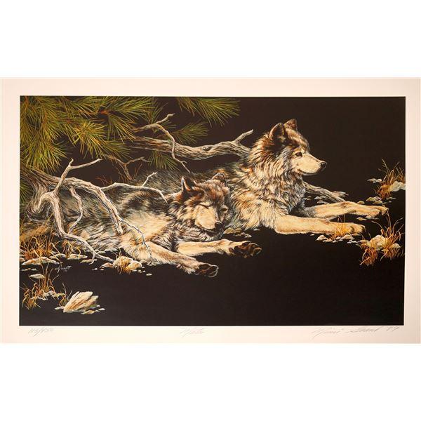"Mimi Grant Print ""Mates""  [131953]"