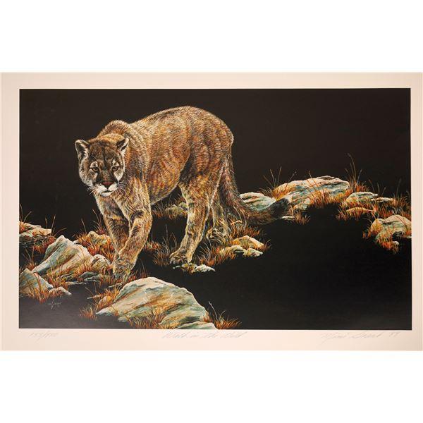 "Mimi Grant Print ""Walk in the Wild""  [131948]"