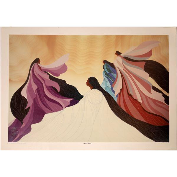 """Bill Rabbit Print """"Whirl Wind""""  [131949]"""