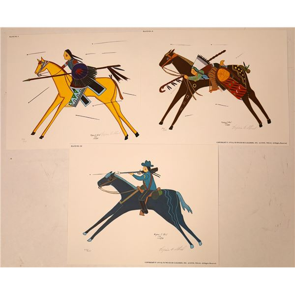 Bookplates of Virginia Stroud Paintings  [131954]