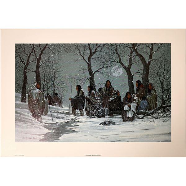 Crossing Ballard Creek by Troy Anderson  [131865]