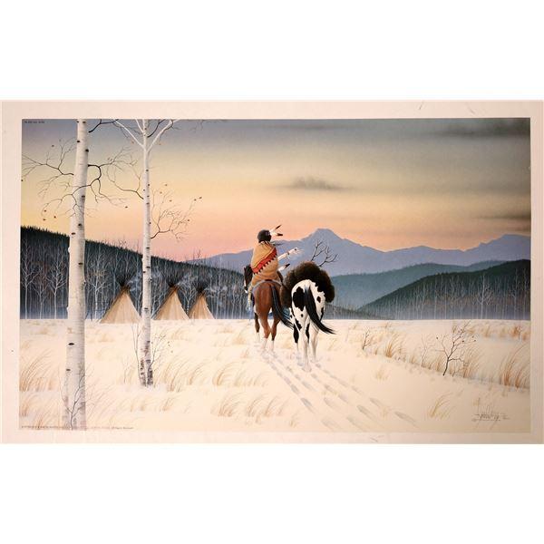 "Donald Vann Print ""December Sky""   [131868]"