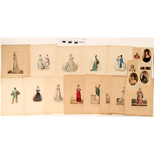 Fashion Plates Over 300 Years  [122806]