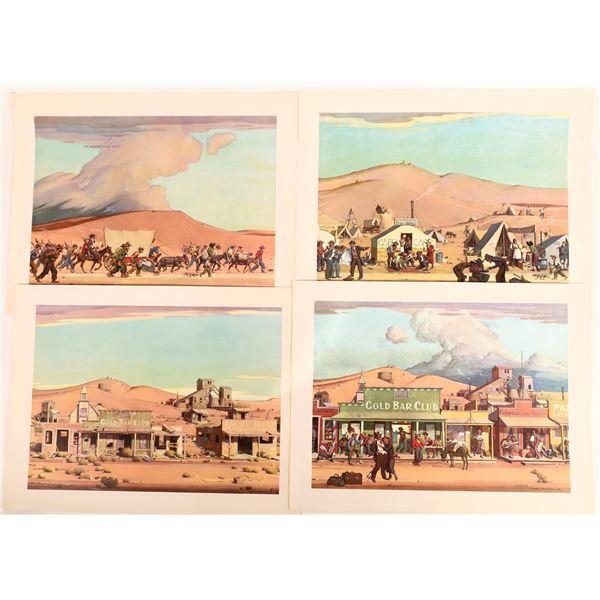 Gold Rush Artist Prints by Forsythe  [131667]