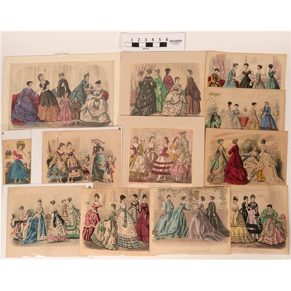 Kimmel and Illman Brothers Women's Fashion Antique Prints Collection  [118918]