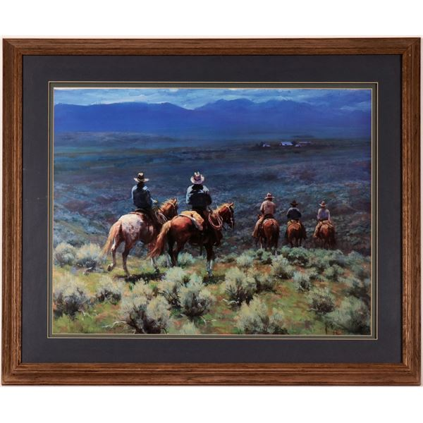 Cowboys on a Blue Day by Ray  [114353]
