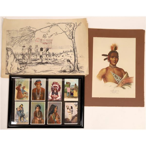 Indian Art in Prints and Postcards  [133788]