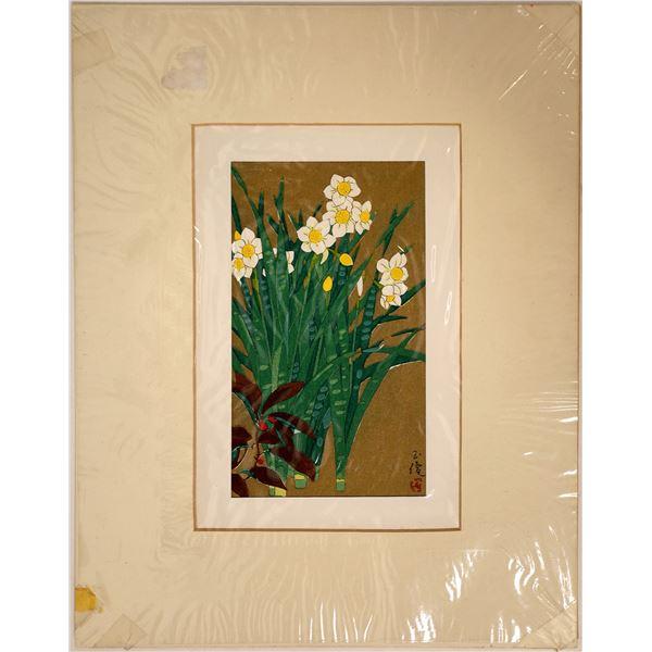 Narcissus--Japanese Print  [131849]
