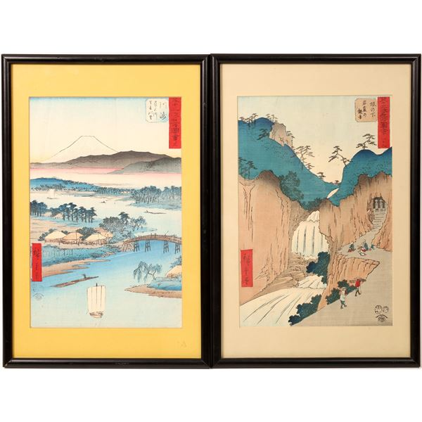 Scenic Woodblock Prints  [131935]